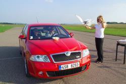 Octavia RS - svezli jsme se