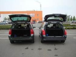 zavazad Peugeot 307 SW vs 308 SW